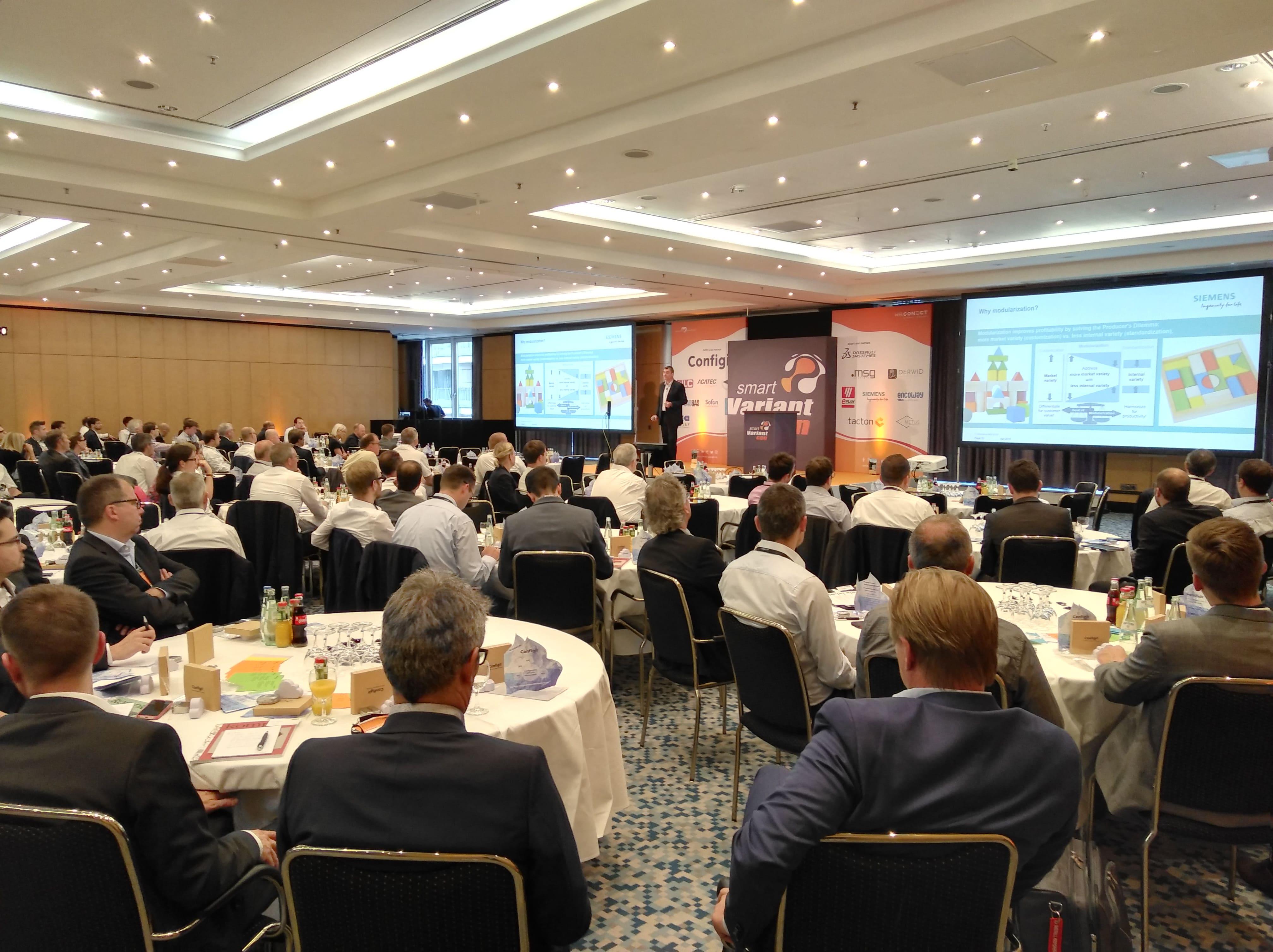 Keynote auf der Smart Variant Con -