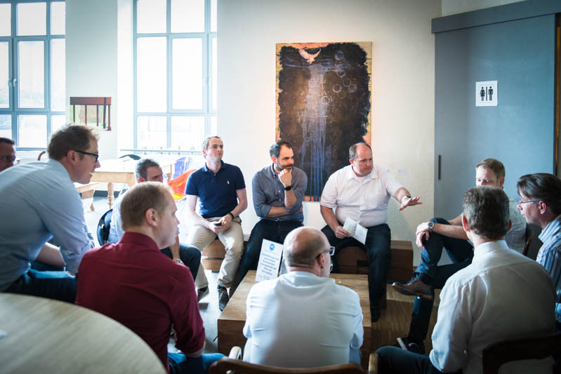 Diskutieren Sie in entspannter Atmosphäre mit den Experten für Komplexitätsmanagement
